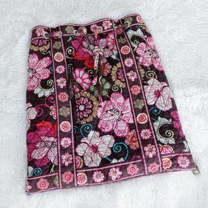 Vera Bradley Mod Floral Quilted Bucket Backpack Ba